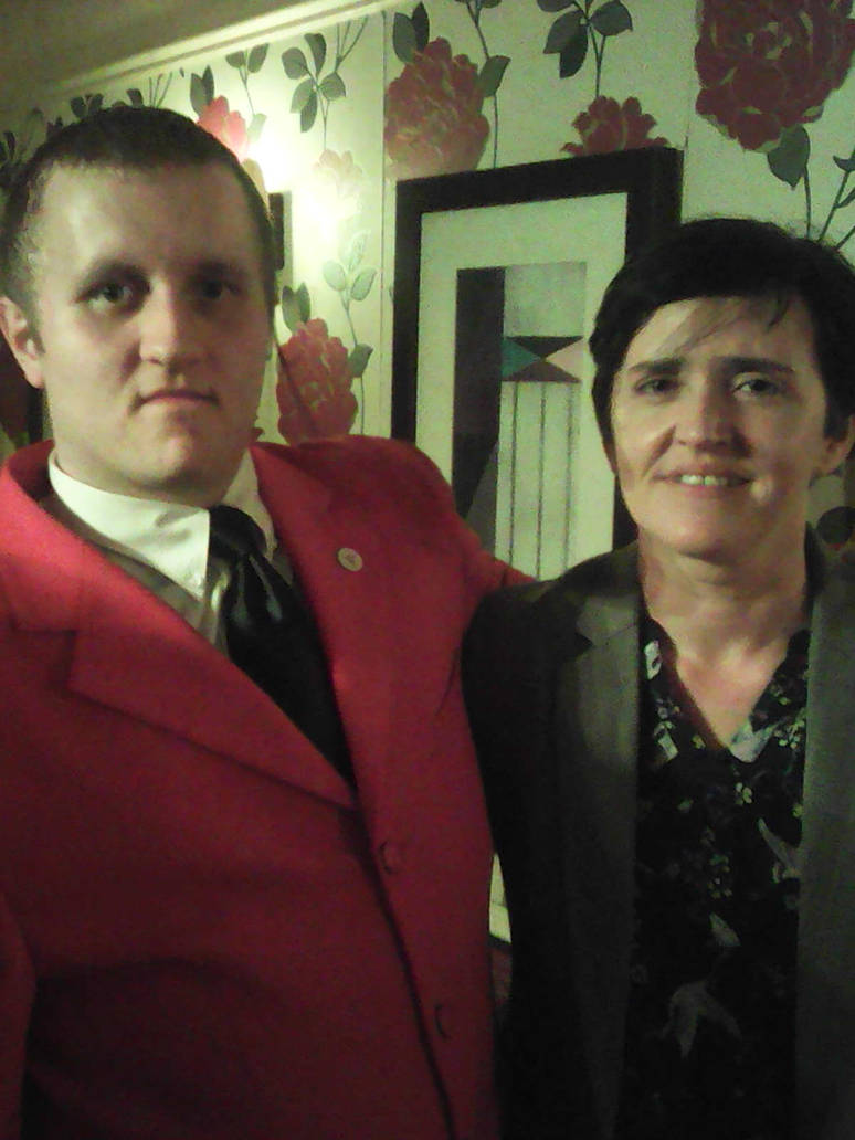 Me with Anne-Marie Waters by LevelInfinitum