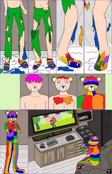 OC No. 25) Rainbow Llewellyn - Relaxing 2/2