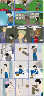 OC No. 28) Ty - Growing up Homeless Comic [1/2]