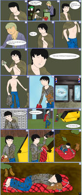 OC No. 28) Ty - Growing up Homeless Comic [2/2]