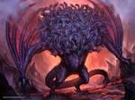Ladon,The 100 Headed Dragon