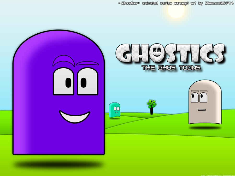 Ghostics Animated Series by Diamond00744