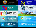 Microsoft Windows USSR Logotype Evolution