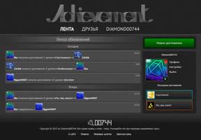 Achievement.su Website Design by Diamond00744