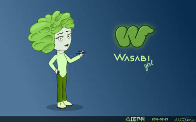 Wasabi Girl by Diamond00744