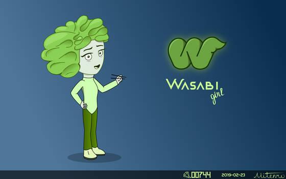 Wasabi Girl by Diamond00744