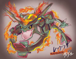 Rayquaza's V-Create by TiRiSh