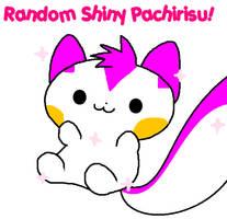 A random Pachi that is shiny. by Karrotcakes