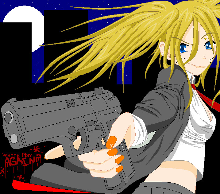 Sharp-Shooter Naruko II by ZabuKawaii