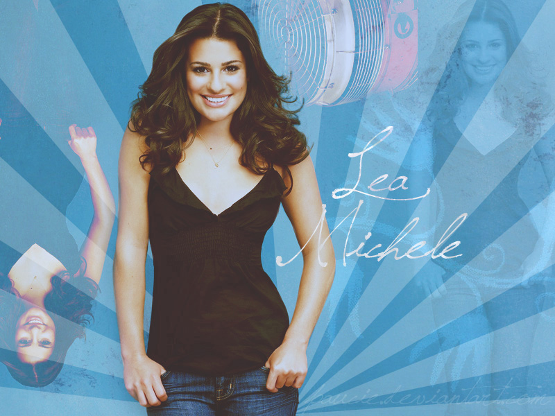 Lea Michele Wallpaper by paucie