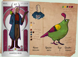 DB-OCT: Harper Reid by Leprapotilas