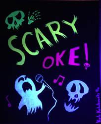 Gravity Falls: Scaryoke (UV version)