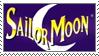 sailor moon stamp - english