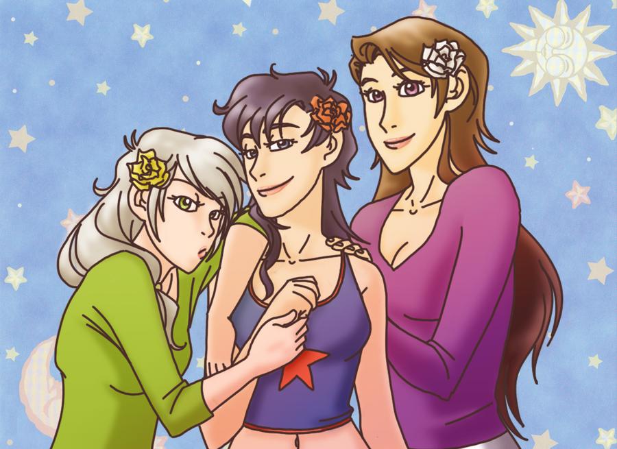 starlights casual v. female by sammywhatammy