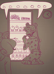 Ask Chibiusa - sharing a fridge