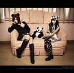 Alodia and Crissey: Panda Love
