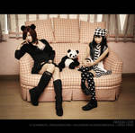 Alodia and Crissey: Panda Love