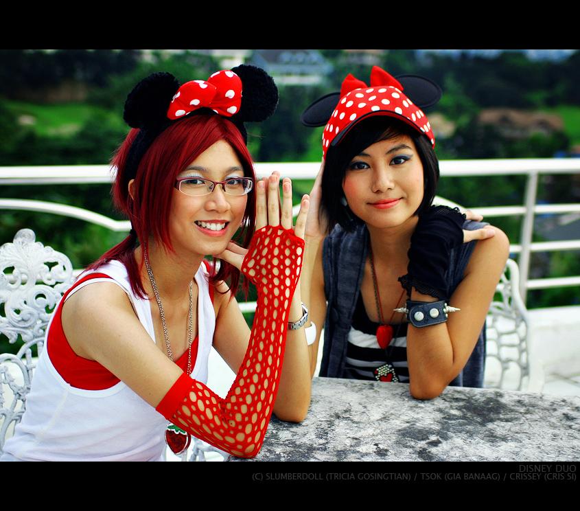 Disney Duo by slumberdoll
