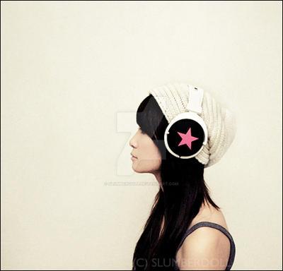 Pink Star by slumberdoll