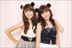 Minnie Twins by slumberdoll