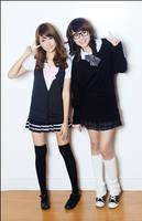Tricia and Domz: Schoolgirls by slumberdoll