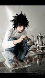 Death Note: L's Tea Time by slumberdoll