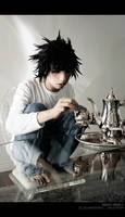 Death Note: L's Tea Time