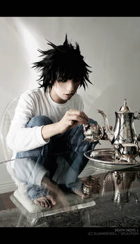 Death Note: L's Tea Time