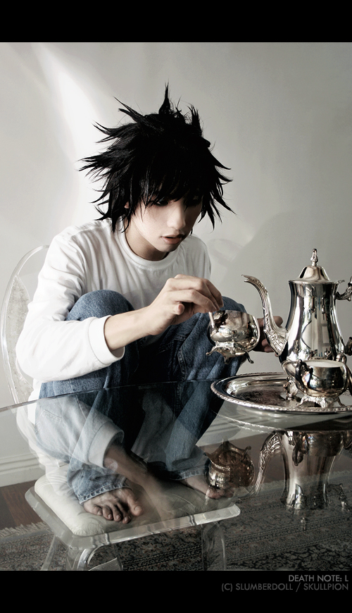 Death Note: L's Tea Time by slumberdoll