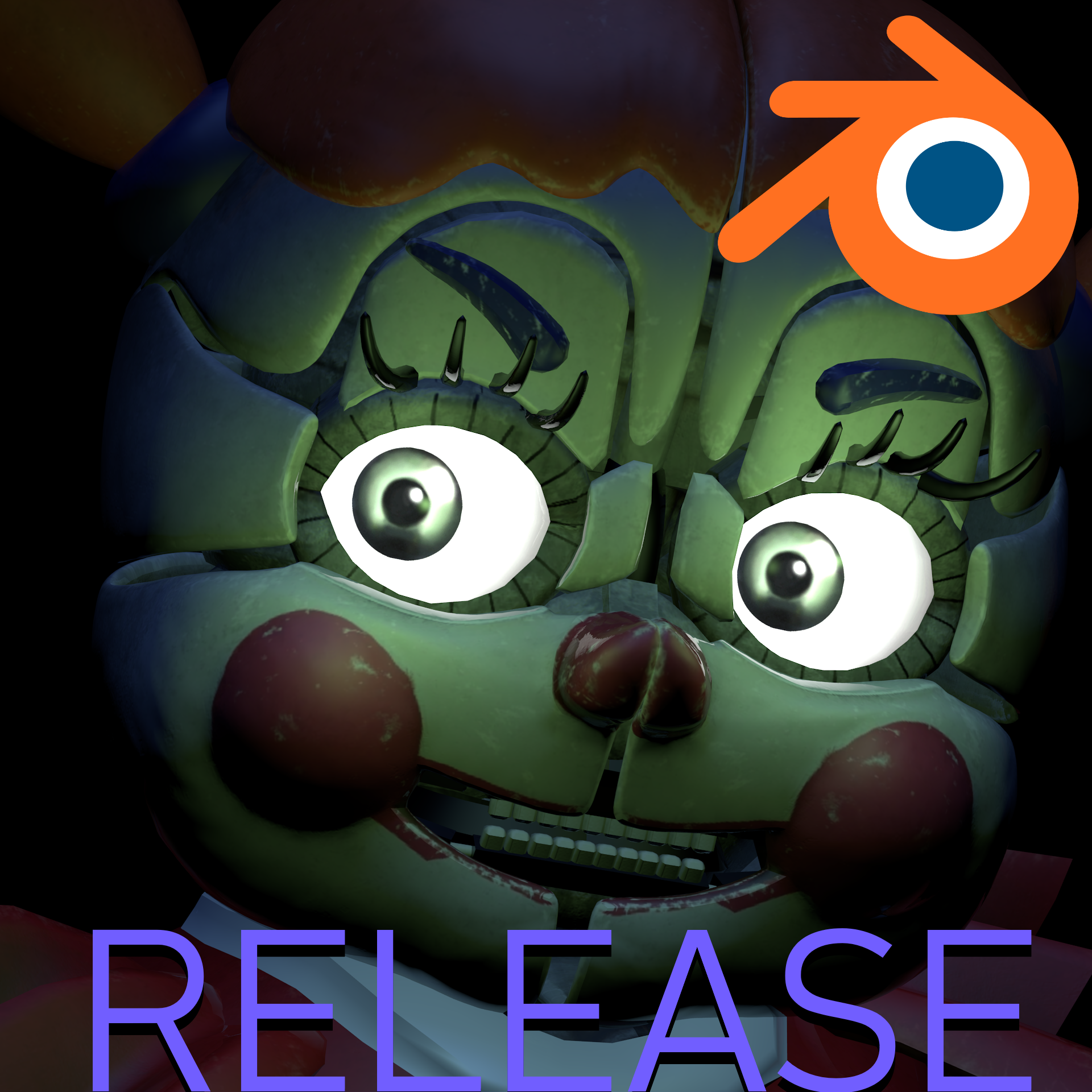 FNAF VR Help Wanted Circus Baby (Blender Release) By