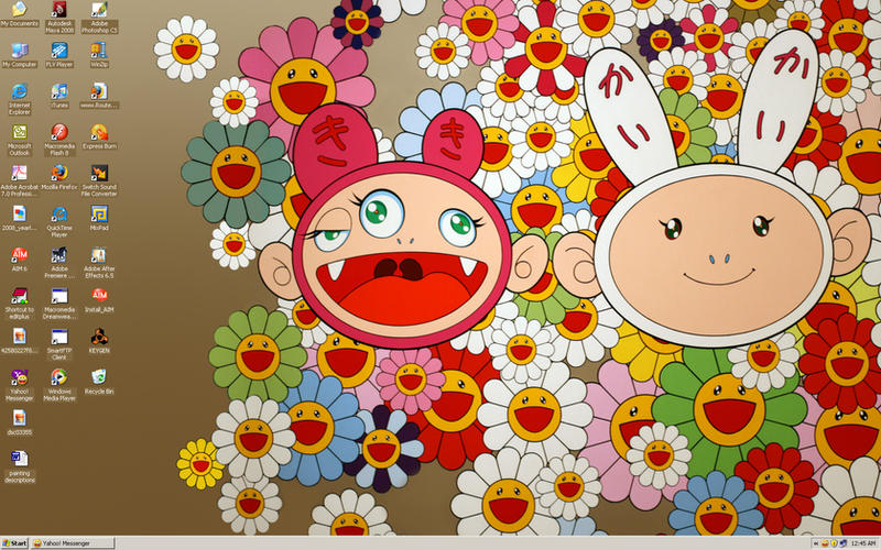 Murakami Desktop by nicolebarker