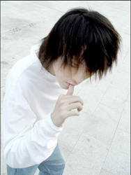 Death Note Cosplay: L by dontcallmenymphadora