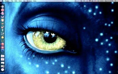 Avatar: Neytiri's eye by dontcallmenymphadora