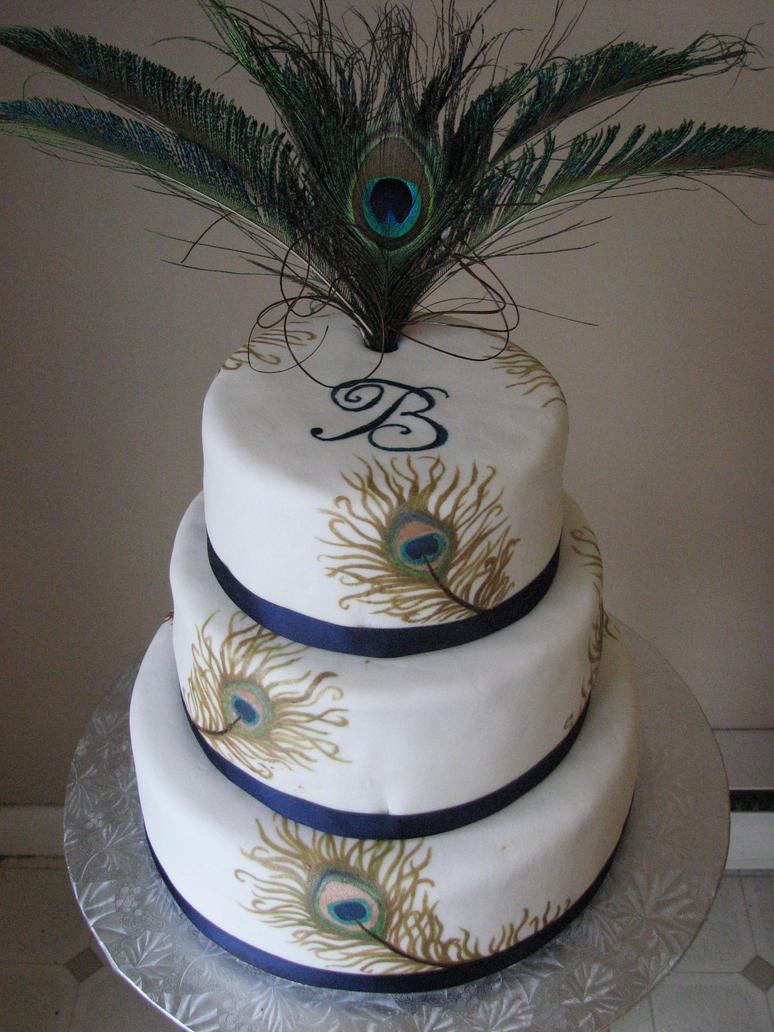 Peacock Cake Topper Uk