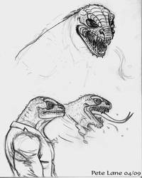 The Lizard by PeteBL