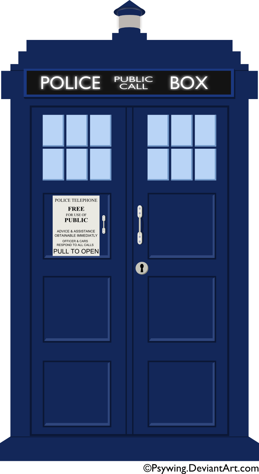 Vector Tardis By Psywing On Deviantart