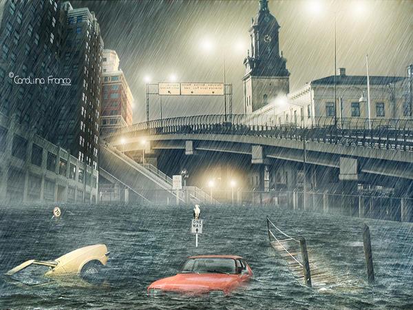 Rain by Caroffspring