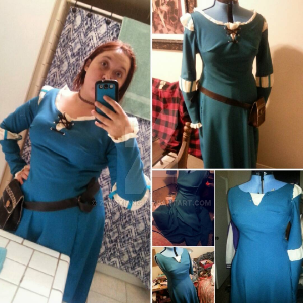 Merida Dress by ZeroXiang