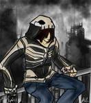 Tyshea's Skeleton Hoodie-Amy