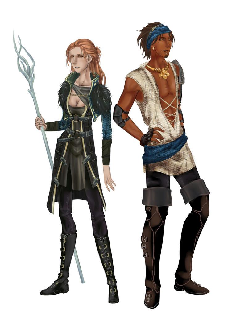 DA2 - Gender bender by Esk-Phantom