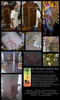 Medicine Seller Box