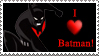 I Heart Batman by Saraella