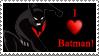 I Heart Batman by Saraella