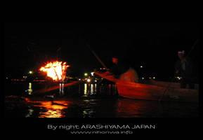 Cormoran fishing by Lou-NihonWa