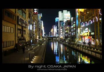 Osaka by night -5- by Lou-NihonWa