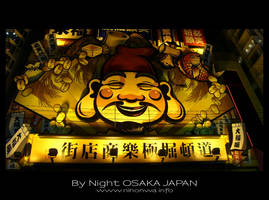 Osaka by night -6- by Lou-NihonWa