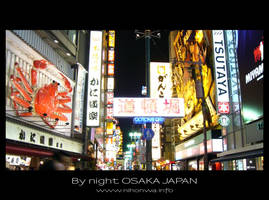 Osaka by night -7- by Lou-NihonWa