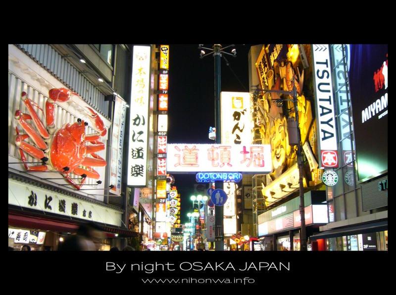 Osaka by night -7- by Lou-NihonWa
