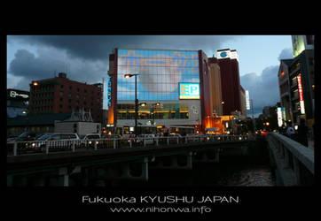 Fukuoka by night -1- by Lou-NihonWa