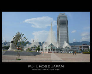 Kobe port -1- by Lou-NihonWa